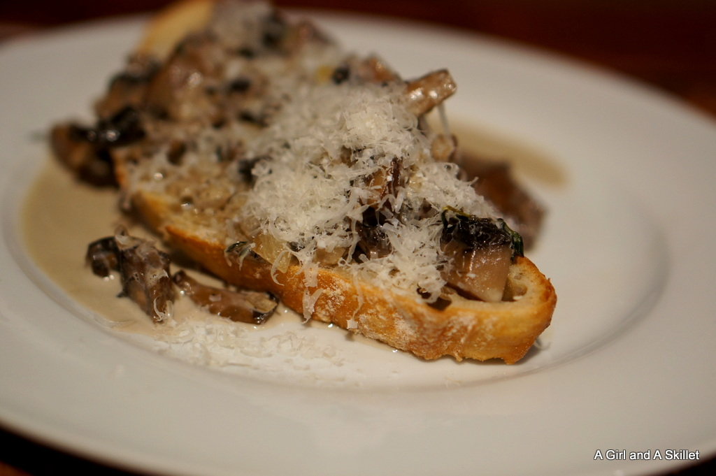 Portobello Mushroom Toast