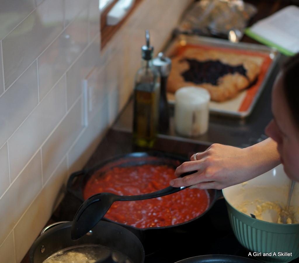 Cooking Rocitta Gnocchi